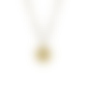 Gold Vermeil Cancer Zodiac Pendant