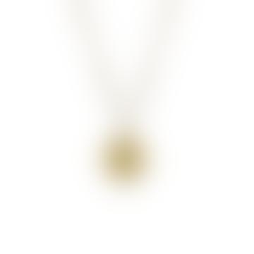 Gold Vermeil Capricorn Zodiac Pendant