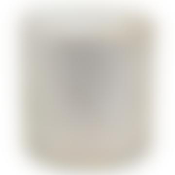 Glass Tea Light Holder - Golden Dots