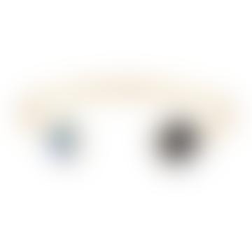 Gold Onyx and Rhinestones Bangle Bracelets