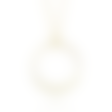 mounir LONDON Gold Vermeil White Pearl Pendant Necklace