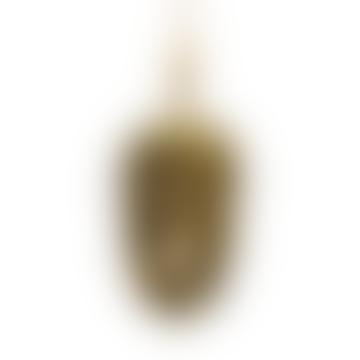 Gold Pinecone Ornament
