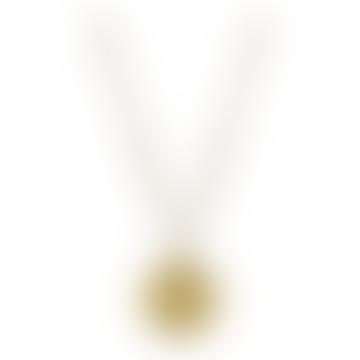 Gold Vermeil Scorpio Zodiac Pendant