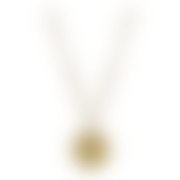 Gold Vermeil Taurus Zodiac Pendant