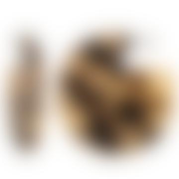 CLARE EARRINGS BLONDE TORTOISE