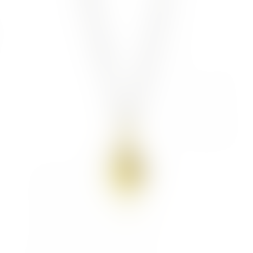 mounir LONDON Gold Plated Nugget Pendant Necklace