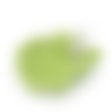 Laboratorio D'Estorias Olive Lettuce Leaf Plate with Snail