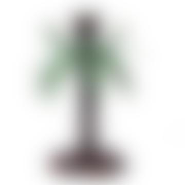 Aluminum Palm Tree Candle Holder