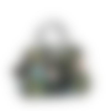 Littlephant 31 x 42 x 16cm Black Multi Saga Forest Day Bag