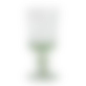 Green High Wineglass