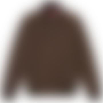 Baracuta G9 Harrington Jacket Chocolate