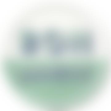 Jamida Asta Barrington 39cm RoundTray - Bon Appetit Green