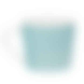 400ml Turquoise Porcelain Wave Mug