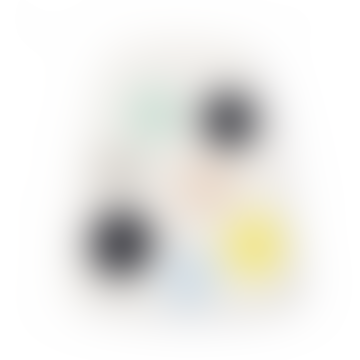 14.5 x 35.5cm Color Dots Serving Plate