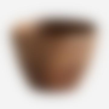 Wooden Round Bowl