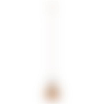 29.3 x 25cm Amber Plastic Drop Top Set Hanging Lamp