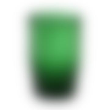Bungalow 230ml Pine Green Siesta Water Glass