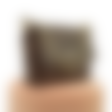 Chocolate leather bag Grumetta FRANCIS BAG 2.0