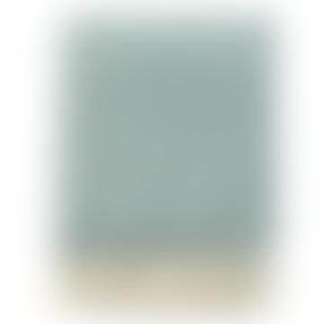 130 x 200cm Freckles Dusty Green Felt Wool Blanket