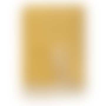 Klippan Yllefabrik 130 x 200cm Chevron Yellow Felt Wool Blanket