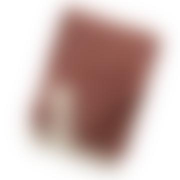 130 x 200cm Stella Rust Felt Wool Blanket