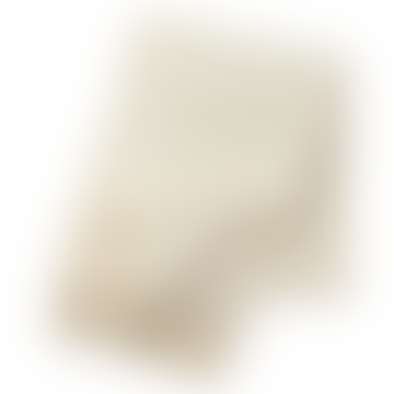 130 x 200cm Twist Natural White Felt Wool Blanket