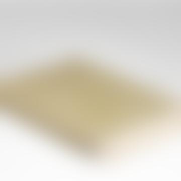 Spotted Green Herringbone Merino Wool Soft Throw