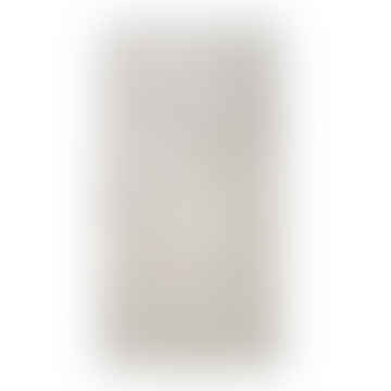 Cream Grey Cotton Bath Mat