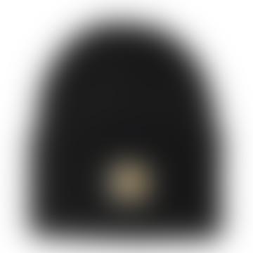 Black Acrylic Watch Hat