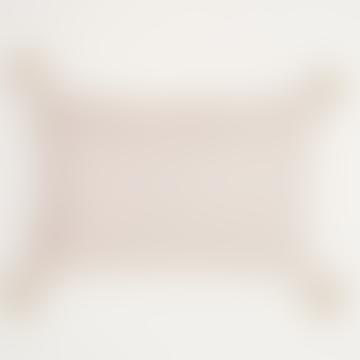 40 x 60cm Soft Pink Kas Shell Cushion
