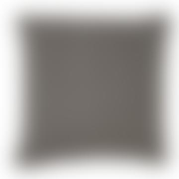 45 x 45cm Dark Grey Lightweight Diamond Tabby Cushion