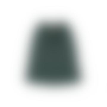 Belle Chiara Green Plush Midi Skirt
