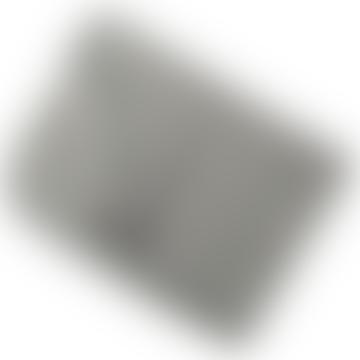 80 x 100cm Light Gray Melange Wool Fleece Blanket