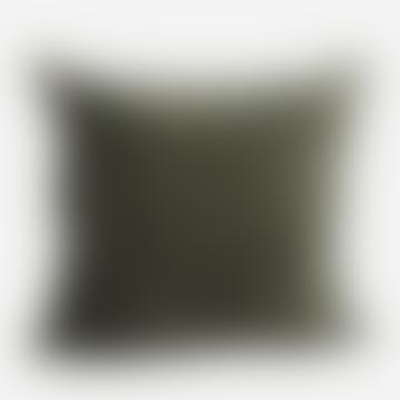 Velvet Cushion Dusty Green