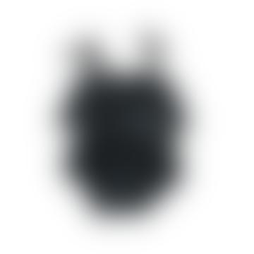 Piupiuchick Black and White Mimosa Playsuit