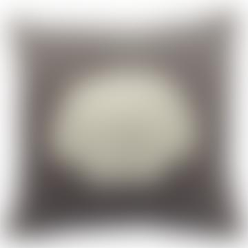 Grey Velvet Shell Cushion