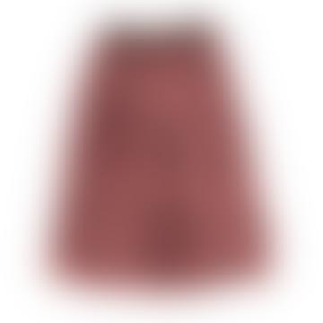 Piupiuchick Animal Print Pleated Long Skirt