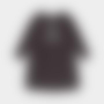 Gray Strardust Flared Dress