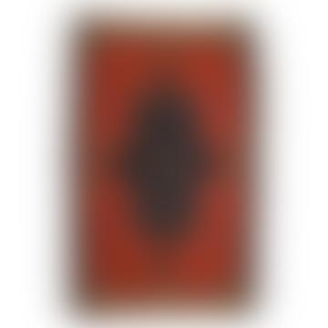 110 x 68cm Small Vintage Iranian Kilim Rug