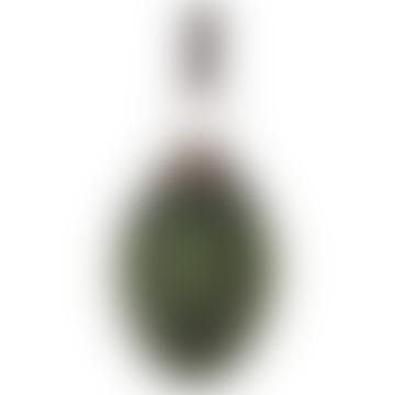 6cm Green Glass Cone