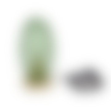Table lamp Cactus Arizona dark green glass