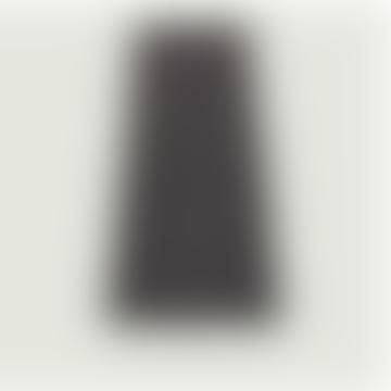 Ink Polyester Pichu Midi Skirt