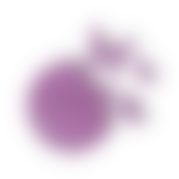 Violet Butterfly Clock