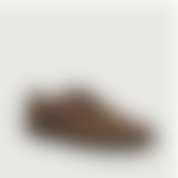 Brown Cotton Canvas Ellington Sneakers