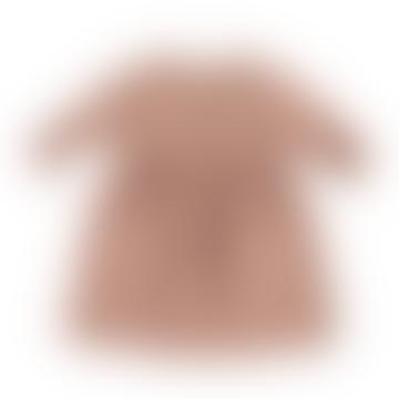 Piupiuchick 8 to 10 Years Pale Pink Stripes Dress