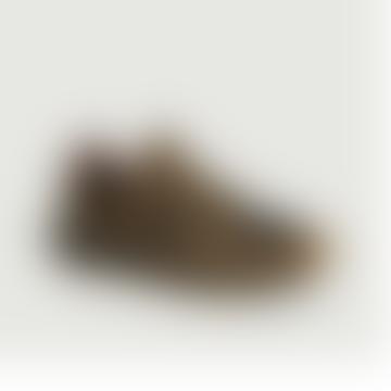 Khaki Suede Leather Edwin Bi Matte Sneakers