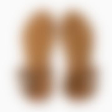 Brown Leather Vienna Sandal