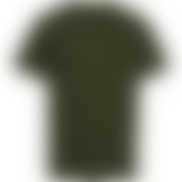 Knowledge Cotton Apparel  Green Forest Organic Cotton Plain T Shirt