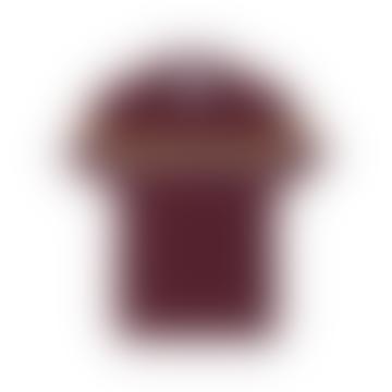 Burgundy Polo Avenir T Shirt