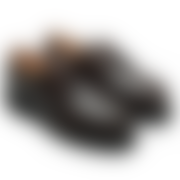 Dark Brown Leather Michael Derbies Shoes